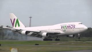 Video Wamos Air llegando a Santo Domingo en un vuelo Charter. (7-3-2015). download MP3, 3GP, MP4, WEBM, AVI, FLV Juni 2018