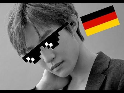 Liu Yangyang Finally Speaking German Wayv Nct Youtube