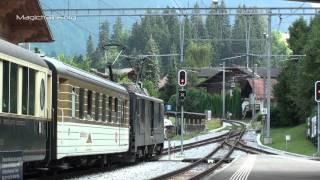 Züge Auf Schmaler Spur-Golden Pass-Gstaad
