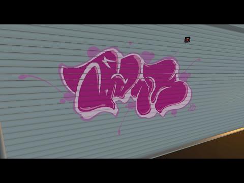 SPRAYPAINTING YOUR MESSAGES LIVE!   Kingspray Graffiti Sim (HTC Vive Virtual Reality)