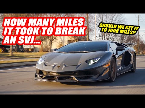 Everything BROKEN On The HIGHEST MILEAGE Lamborghini Aventador SVJ *IN THE WORLD*