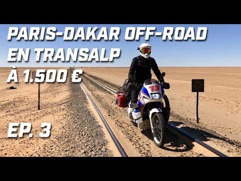 PARIS DAKAR OFF-ROAD EN TRANSALP ► EP 3  ► CÔTÉ FRONT POLISARIO