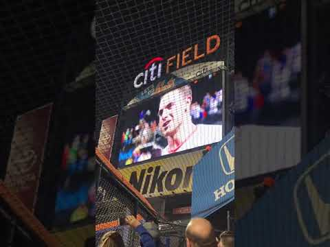 David Wright S Last Game Video Speech New York Mets Awnings On