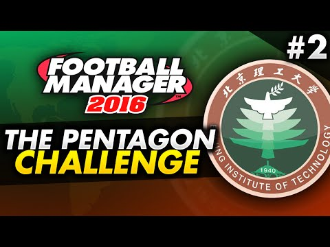 Football Manager 2016 Pentagon Challenge - Episode 2