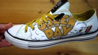 Green Day Converse All Stars Dookie
