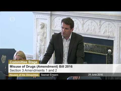 Misuse of Drugs (Amendment) Bill 2016