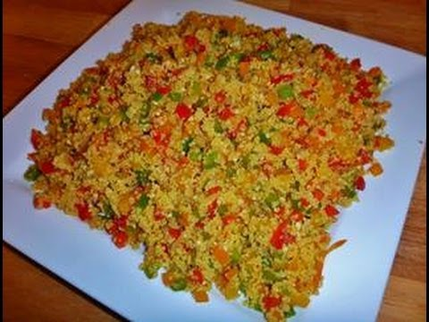 Colorful CousCous Recipe- Become Your Own Favorite Chef