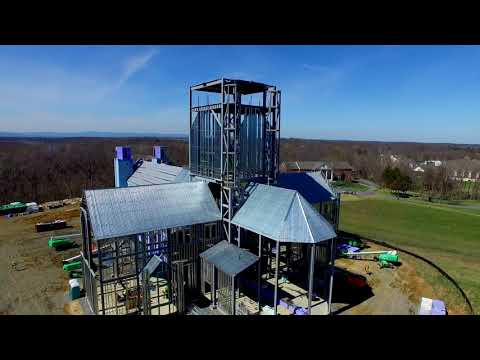 Flyover of Christ the King Chapel   March 2020