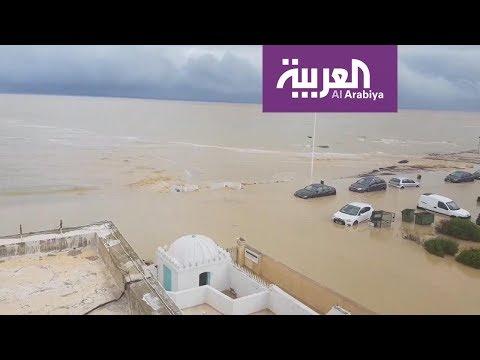 الفيضانات تغرق مدن تونسية  - نشر قبل 7 ساعة