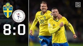 Mit Viererpack! Berg öffnet Tür zu WM: Schweden - Luxemburg 8:0   Highlights   WM-Quali   DAZN