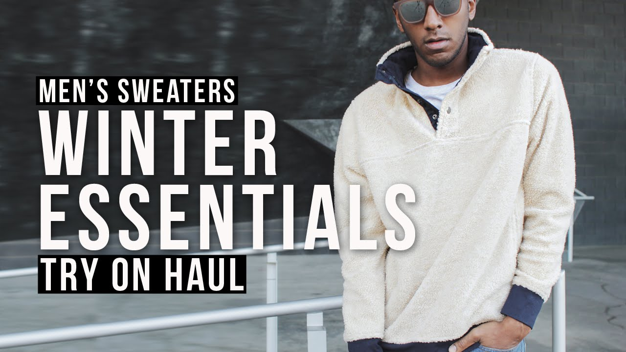 Mens Sweaters How To Wear A Turtleneck + Oversized Sweaters