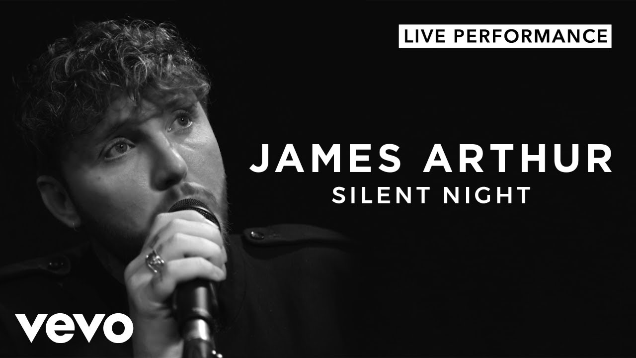 James Arthur - Silent Night (Live) | Vevo Live Performance