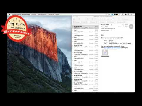 Asterisk Voicemail enviando e-mail