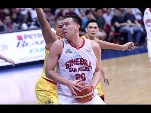 STAR VS. GINEBRA - OT  | Philippine Cup 2015-2016