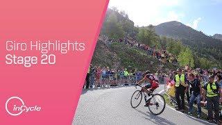 Giro d'Italia: Stage 20 - Highlights
