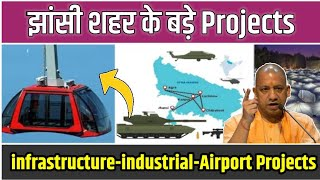 Jhansi city big project's infrastructure projects,industrail development projects 2020 full Projects