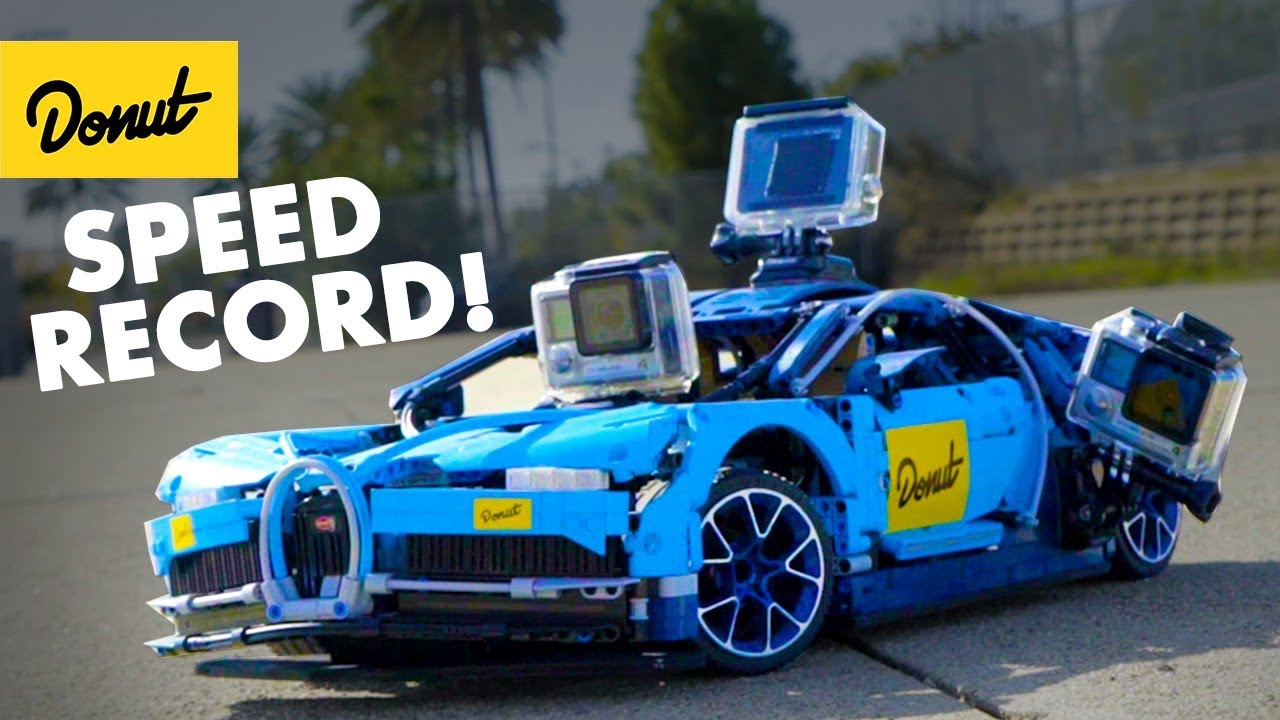World S Fastest Lego Bugatti Youtube