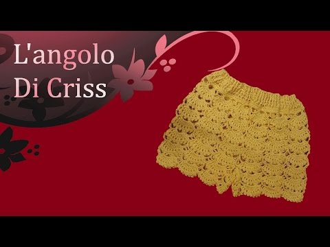 orologio a5bf8 92423 Pantaloncini all'uncinetto - crochet shorts - pantalon corto de ganchillo
