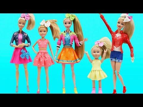 Play Doh Outfits JOJO SIWA Inspired Barbie Stacie My Life As Doll Disney Princess Rapunzel