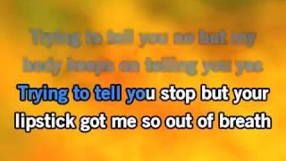 Maroon 5 - One More Night - Karaoke