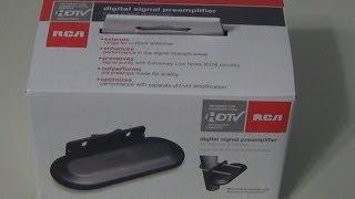 RCA TVPRAMP1R Voorversterker Unboxing