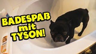 Badespaß mit TYSON! | VLOG