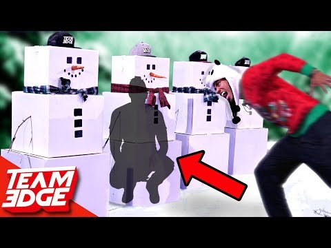 Tackle The Person In The Snowman!!
