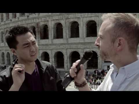 Rome's Comedy Club (RCC) talk politics