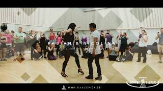 Bachata workshop Fabian and Nicolina Baila Baila Summer Festival
