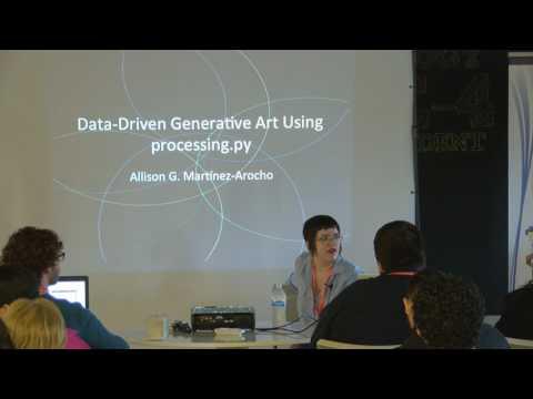 Data Driven Generative Art Using Processing py - Allison Martinez