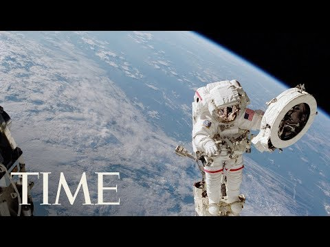 International Space Station: Spacewalk With NASA Astronauts Randy Bresnik & Mark Vande Hei | TIME