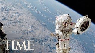 International Space Station: Spacewalk With NASA Astronauts Randy Bresnik & Mark Vande Hei   TIME