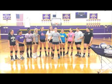 Smithsburg High Volleyball Cheers 2014
