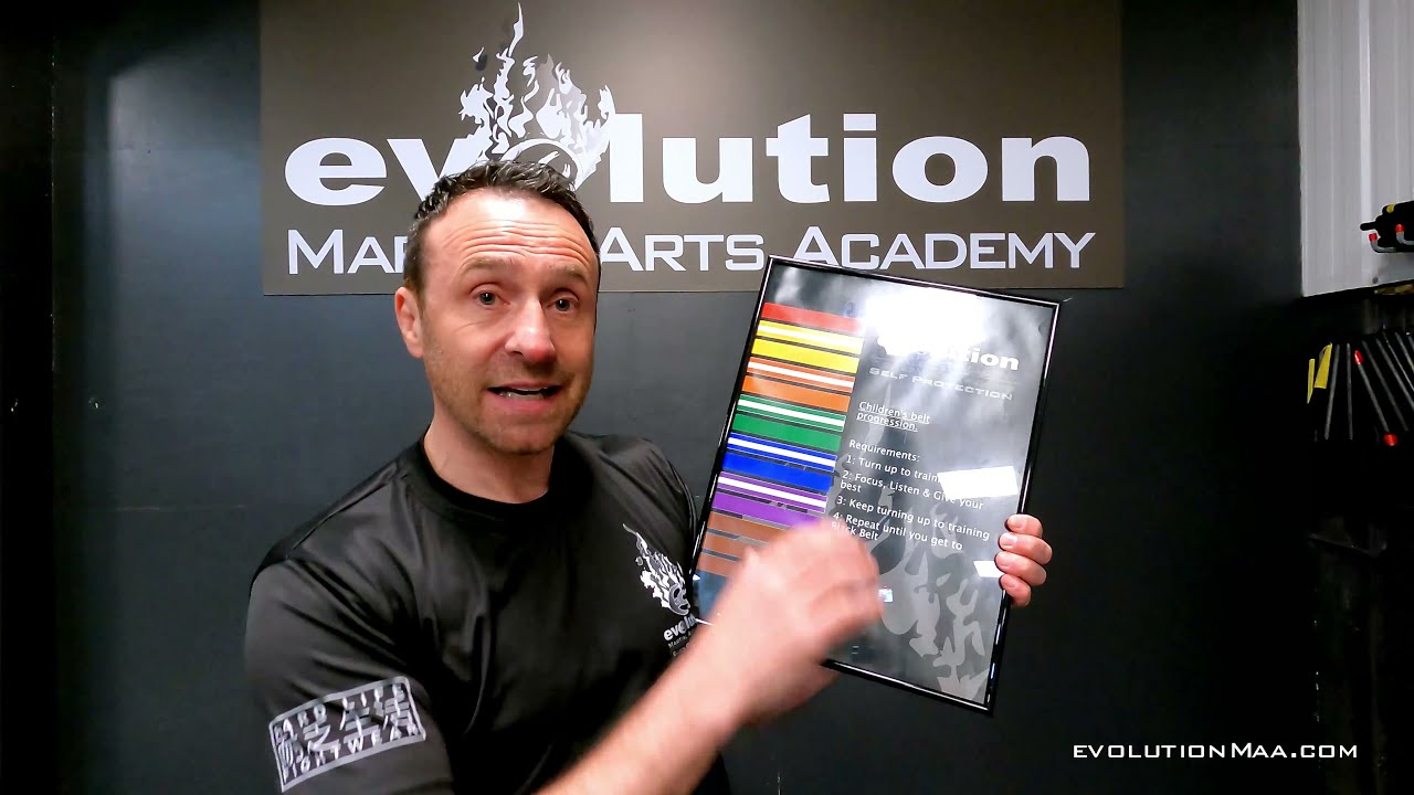 Combat kids 6 to 15yrs - Belt progression