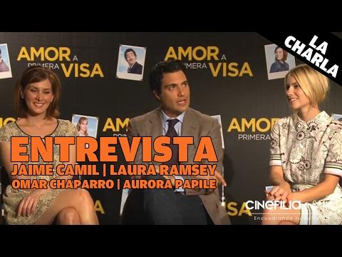 "Entrevista Cinefilia: Elenco ""Amor a primera Visa"""