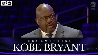 Shaq On The Mutual Respect He And Kobe Shared | NBA on TNT