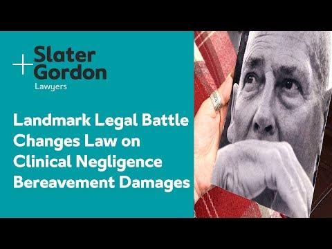 Landmark Legal Battle Changes Law on Clinical Negligence Bereavement Damages | Client Testimonial