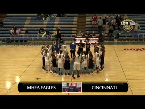MHEA Eagles vs Cincinnati Trailblazers   Girls 14u Semi Finals   3/10/16