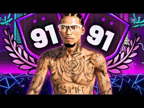 FINALLY 91 OVERALL! 10 STRAIGHT THREES LIKE KLAY?! FUNNY MOMENTS @ NBA 2K19 Jordan Rec Center