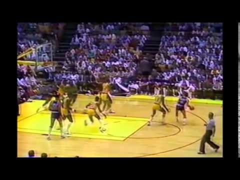 Walter Davis 27 points/10 assists vs. Lakers (1984 WCF Game 5)