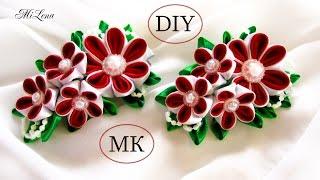 Faça uma linda flor estilo Kanzashi