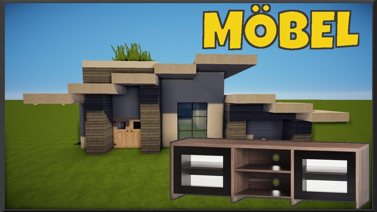 Minecraft modernes Haus akazie/weiß/grau bauen - utorial ...