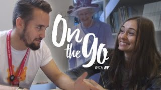 British vs. American English with Maria & Daniel – On the go with EF #34