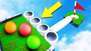 ONLY ONE PIPE = WIN! - Golf It