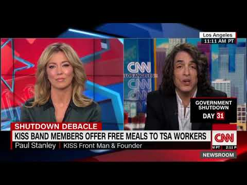 Paul Stanley & Gene Simmons offer free meals to TSA workers during government shutdown Mp3