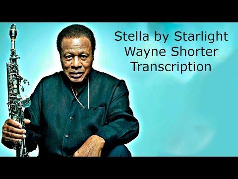 Stella by Starlight, Wayne Shorter's (Bb) Transcription. Transcribed by Carles Margarit