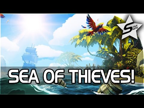 "Sea of Thieves E3 Gameplay, Trailer, & News - ""OPEN-WORLD, RPG BLACKWAKE?!?"""