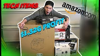 I PAID $480 FOR $2,600+ WORTH OF MYSTERY AMAZON TECH RETURNS!! (UNBOXING)