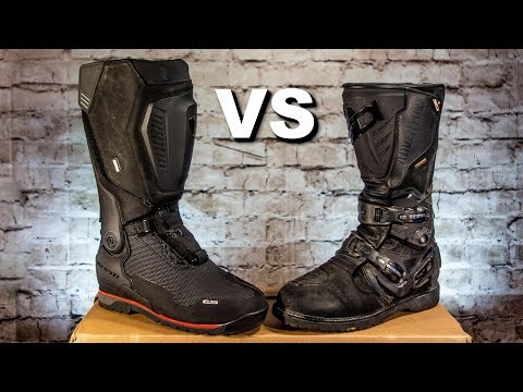 Best ADV Motorcycle Boots REV'IT! Expedition H2O vs Sidi