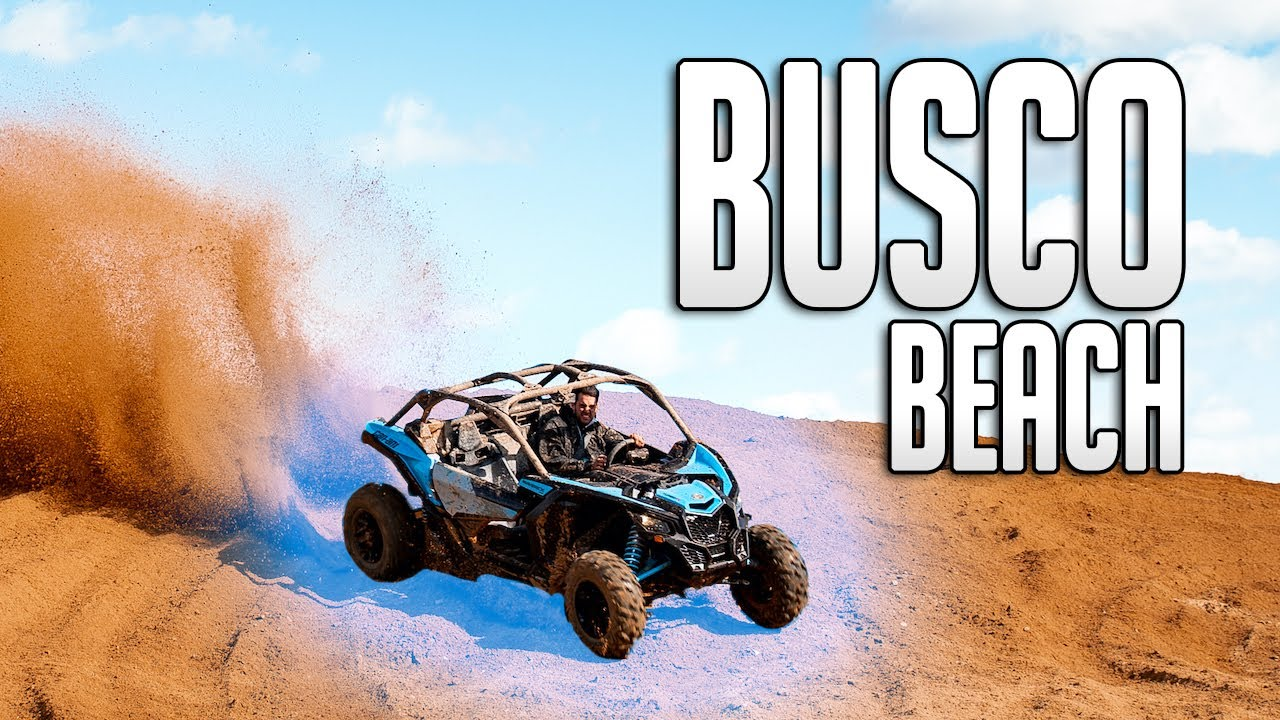 Taking My NEW Can-Am X3 To Busco Beach - download from YouTube for free